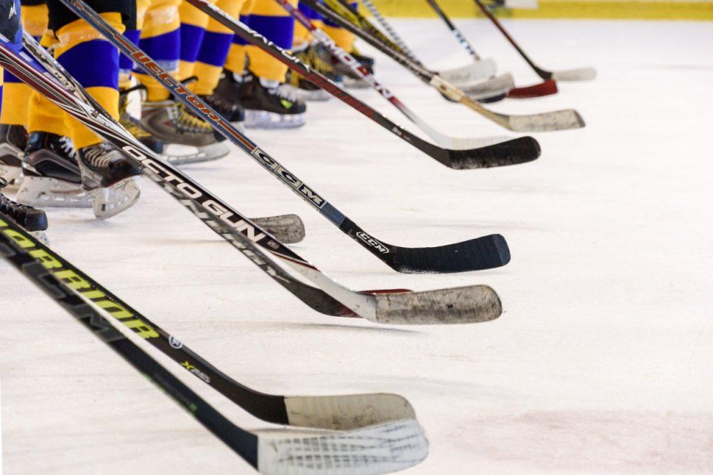 hockey team, hockey game, ice skating rink