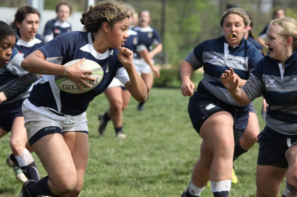 rugby, women, sports